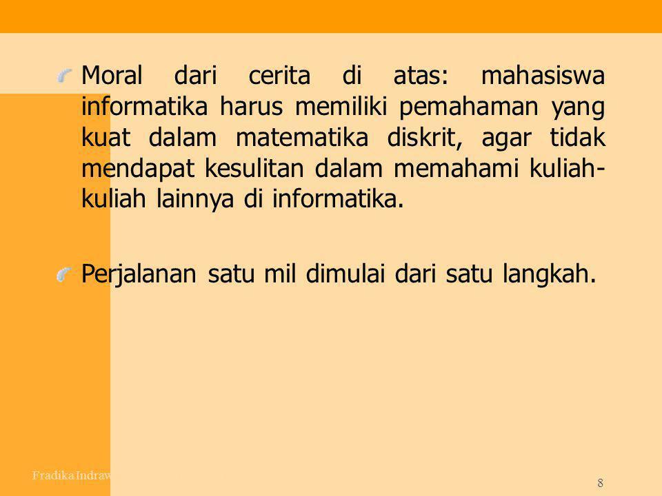 Fradika Indrawan,S.T – UAD – Pert I