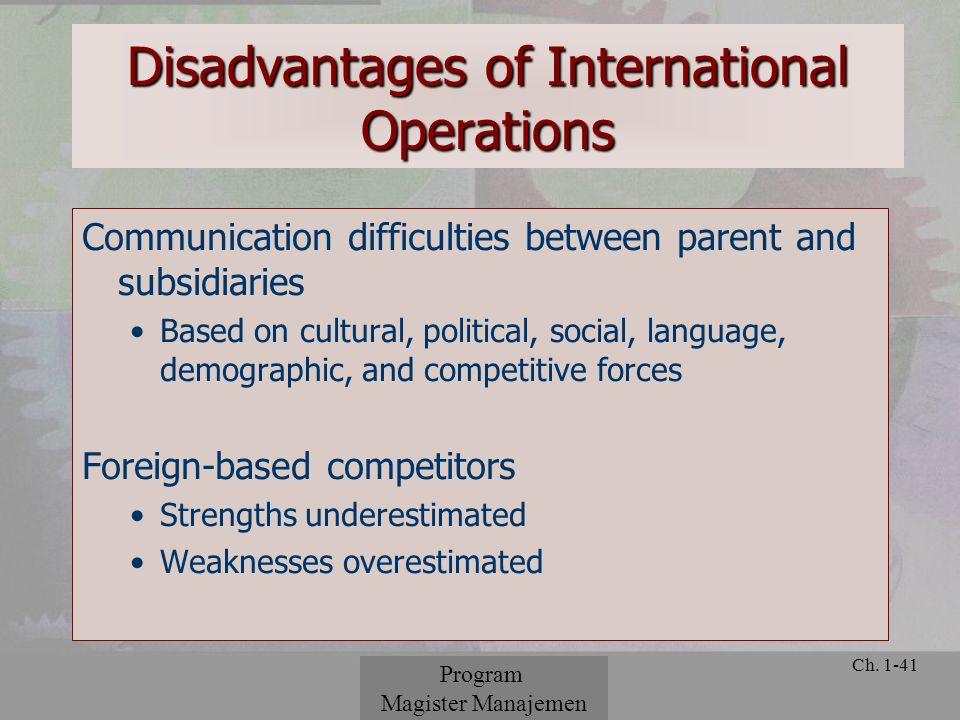 list six reasons to internationalize operations Answer to list six reasons to internationalize operations list six reasons to internationalize operations.