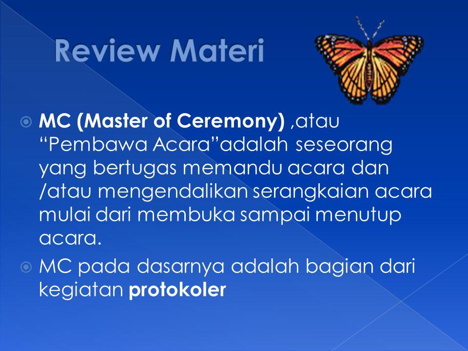 Review Materi