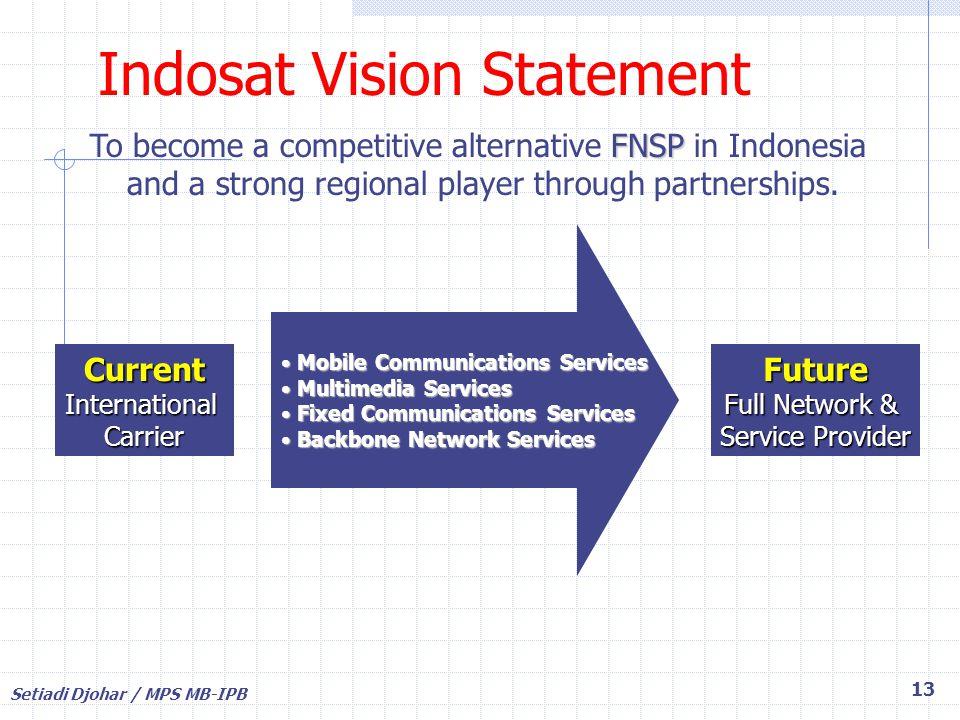 Indosat Vision Statement