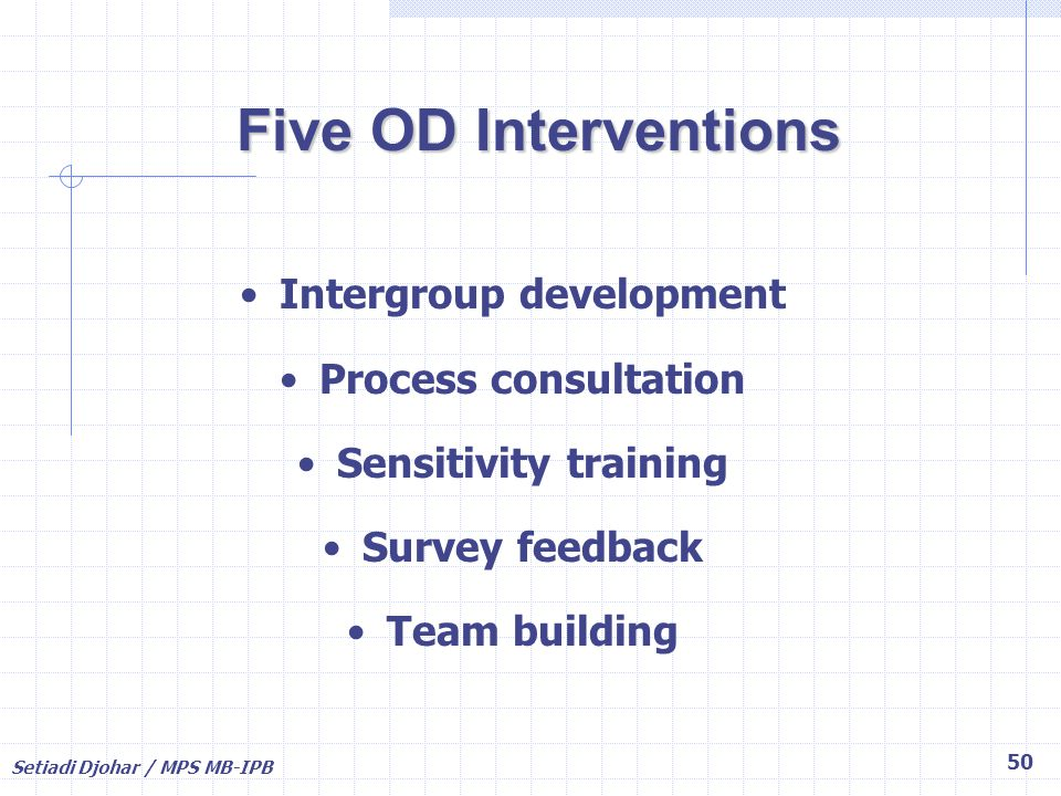 Intergroup development