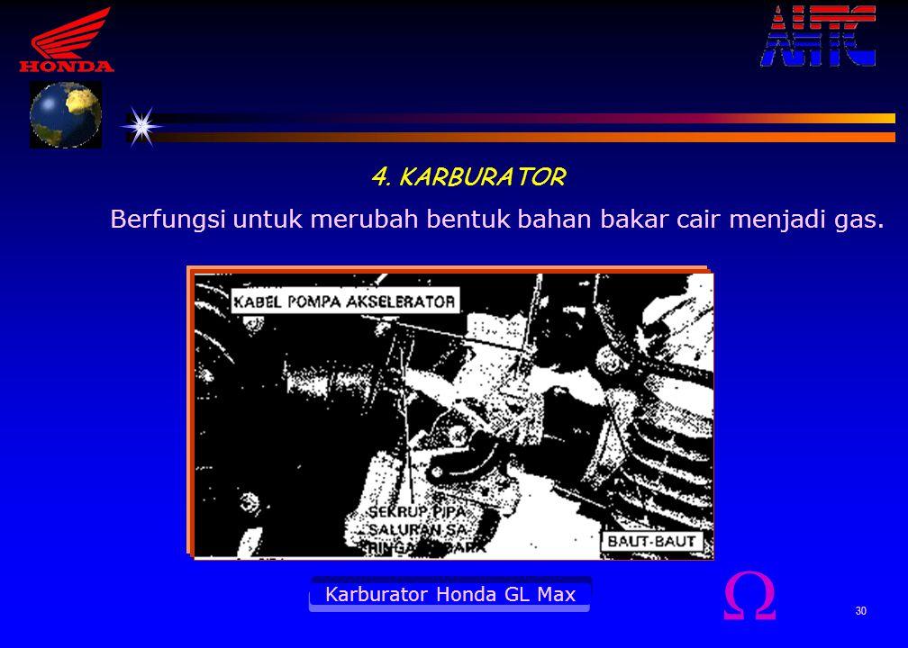 Karburator Honda GL Max
