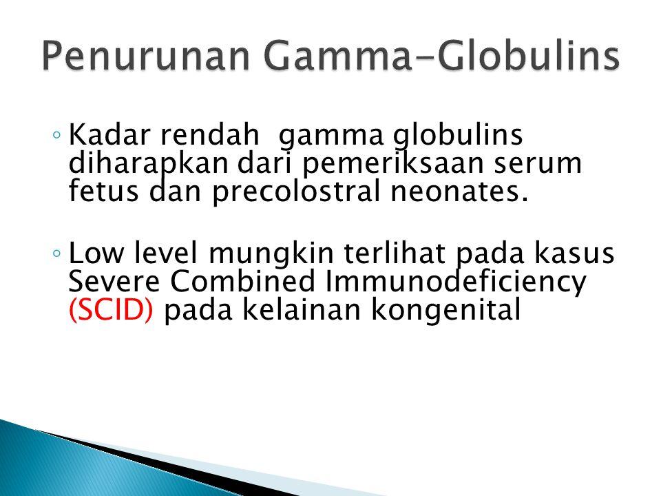 Penurunan Gamma-Globulins