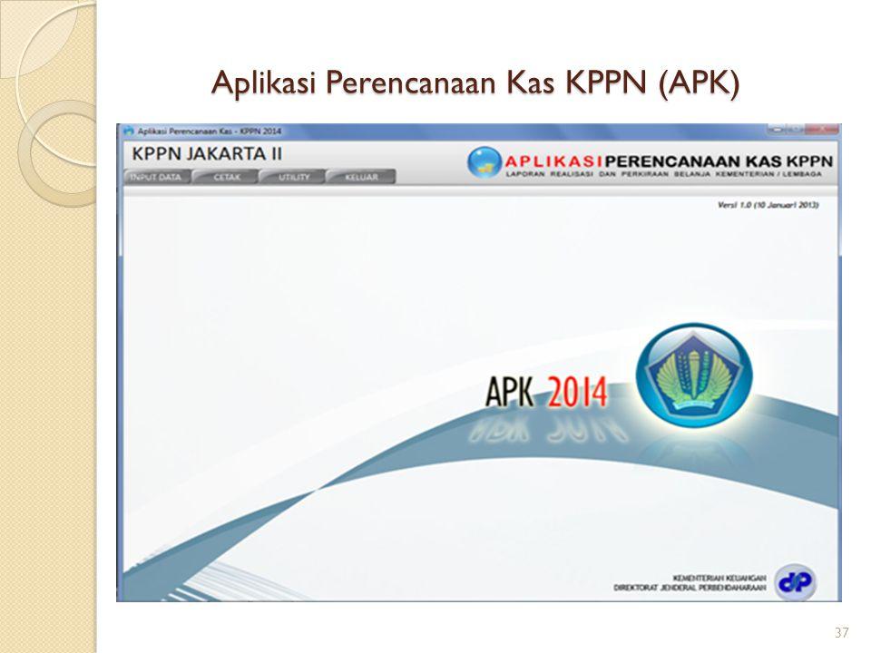 Aplikasi Perencanaan Kas KPPN (APK)