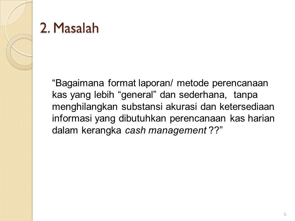 2. Masalah