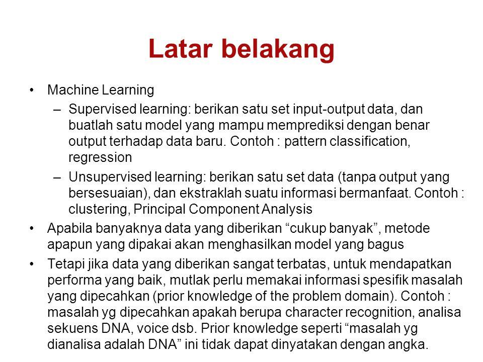 Latar belakang Machine Learning