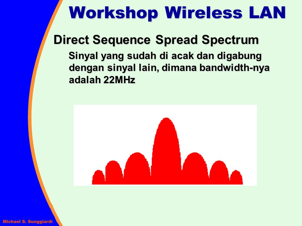 Workshop Wireless LAN Direct Sequence Spread Spectrum