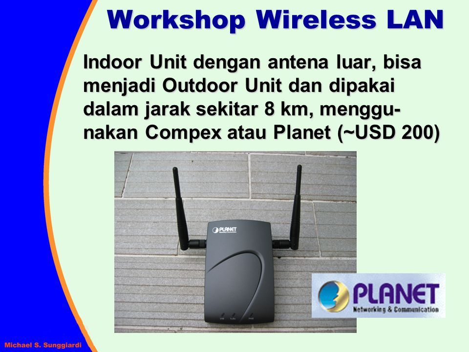 Workshop Wireless LAN