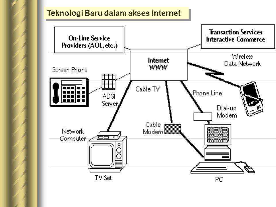 Teknologi Baru dalam akses Internet