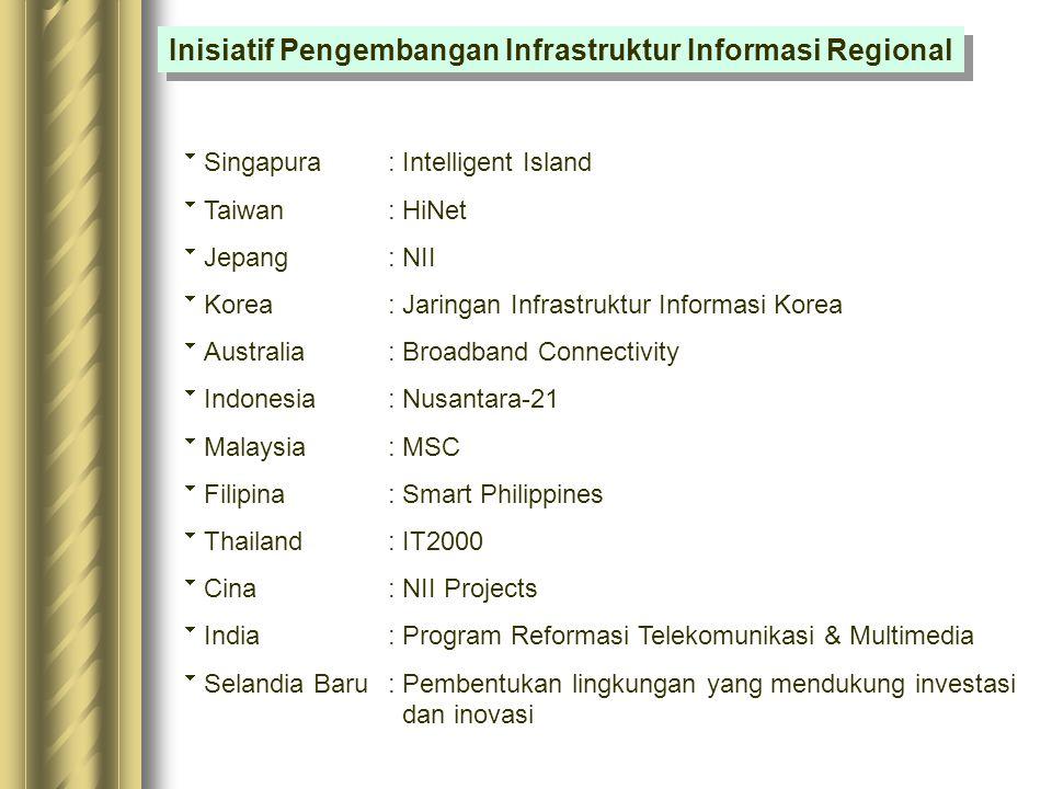 Inisiatif Pengembangan Infrastruktur Informasi Regional