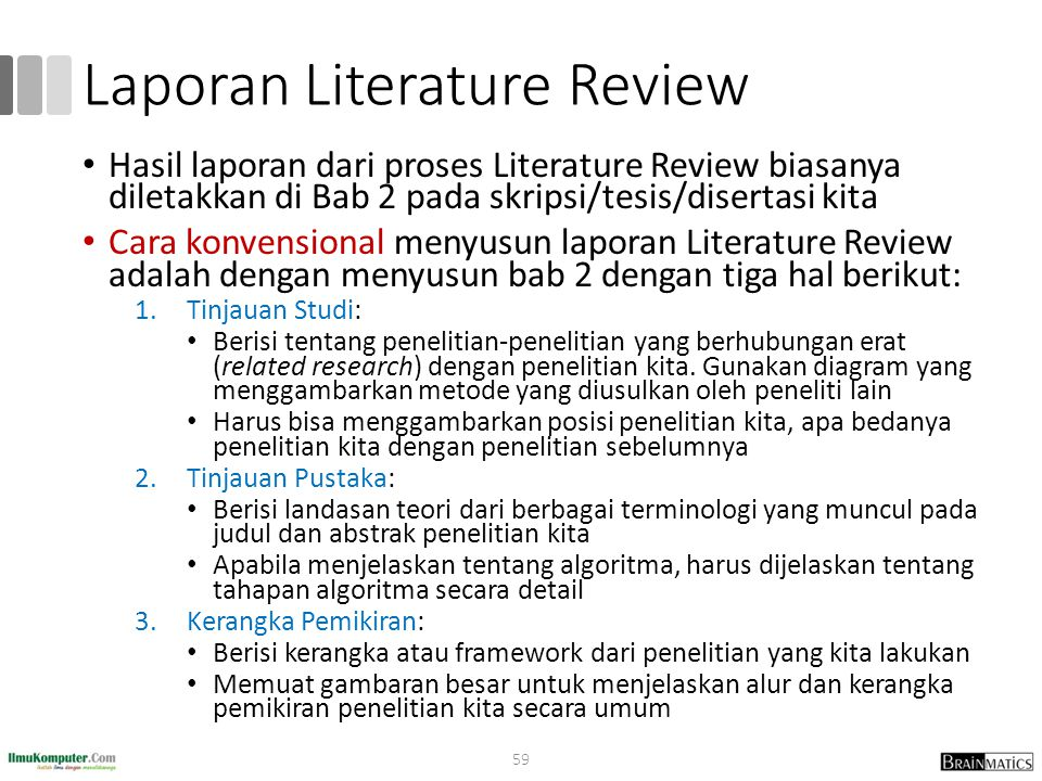 Laporan Literature Review