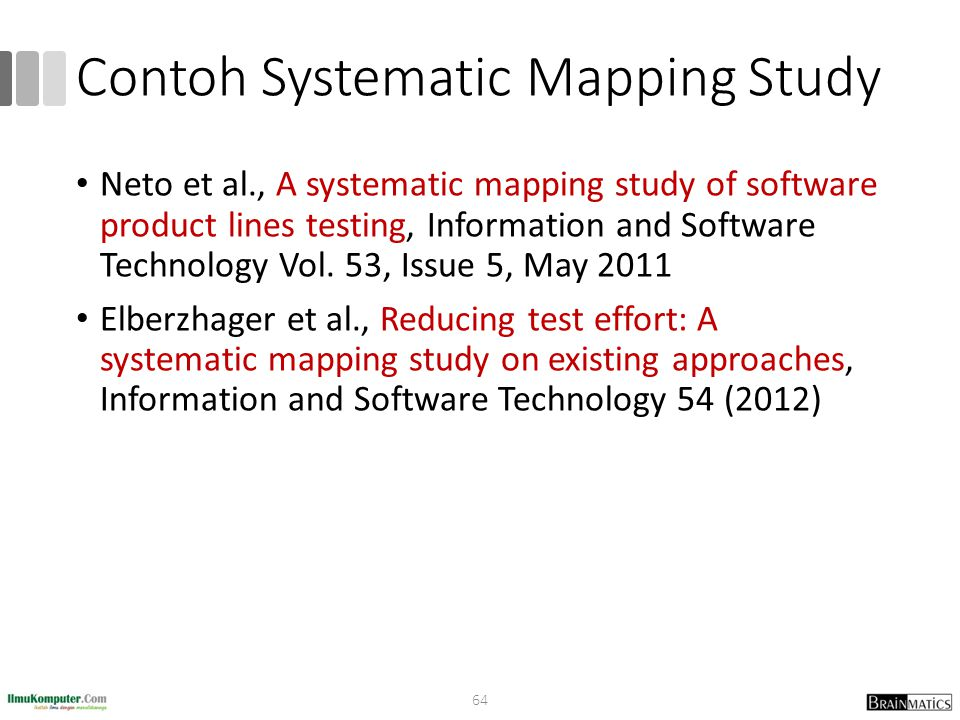 Contoh Systematic Mapping Study