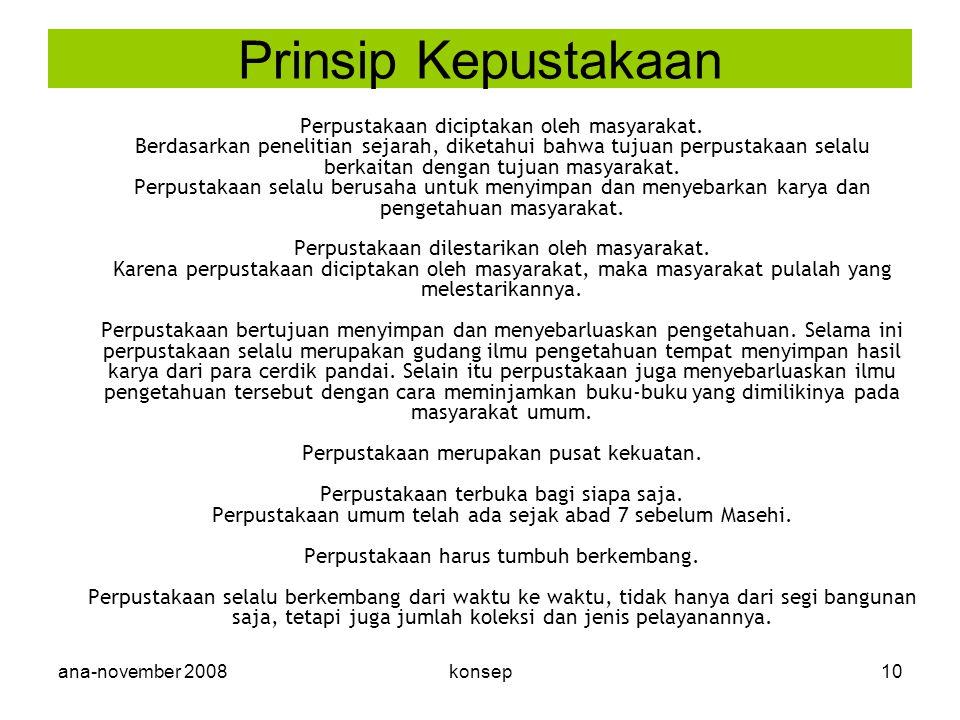 Prinsip Kepustakaan