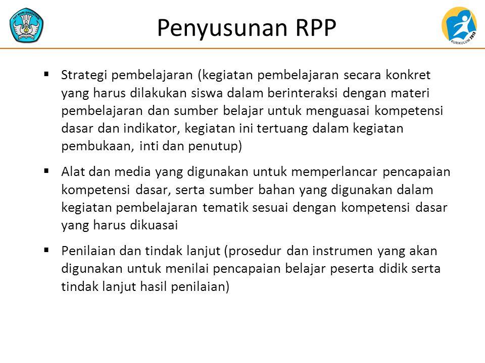 Penyusunan RPP