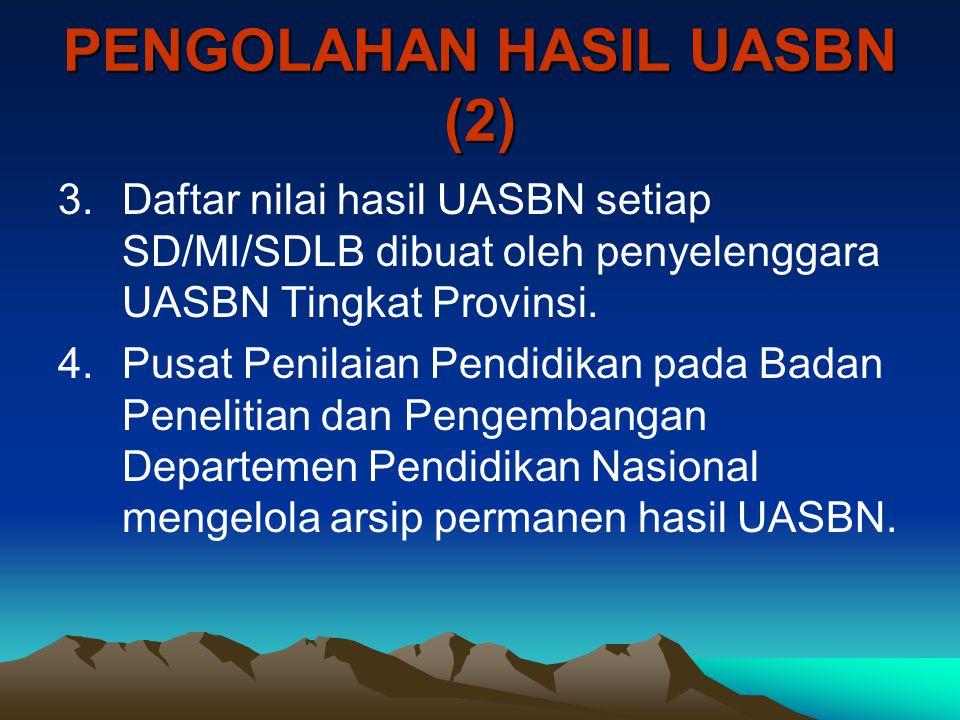 PENGOLAHAN HASIL UASBN (2)