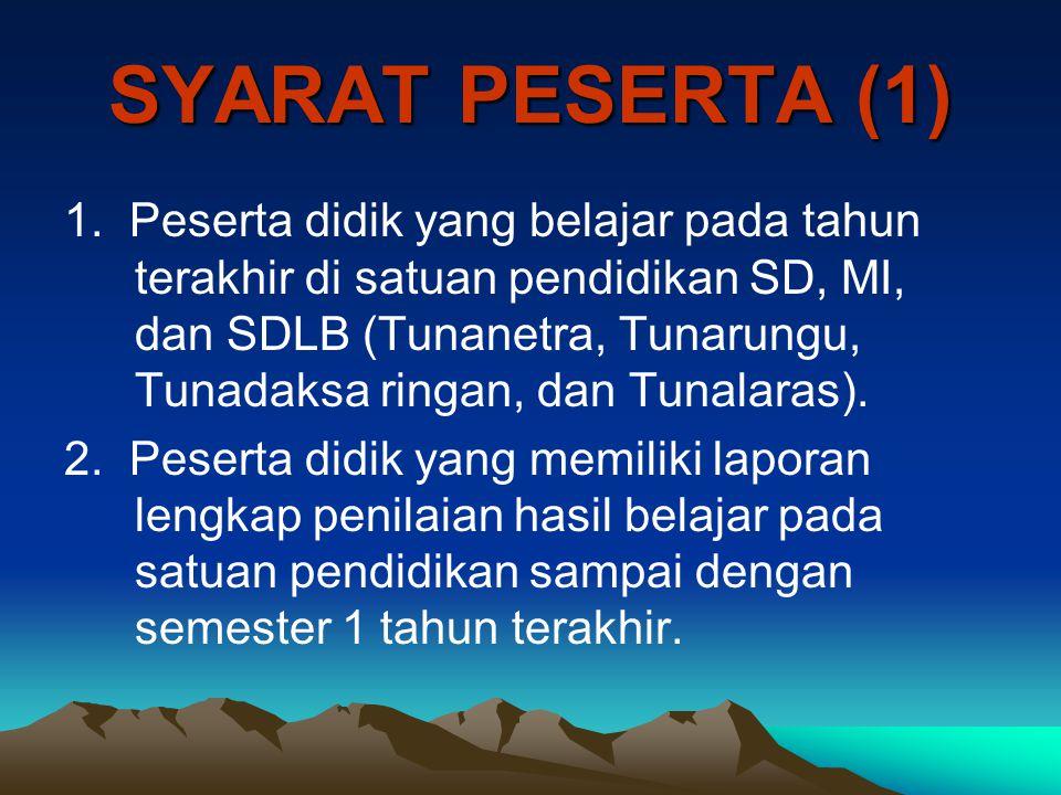 SYARAT PESERTA (1)
