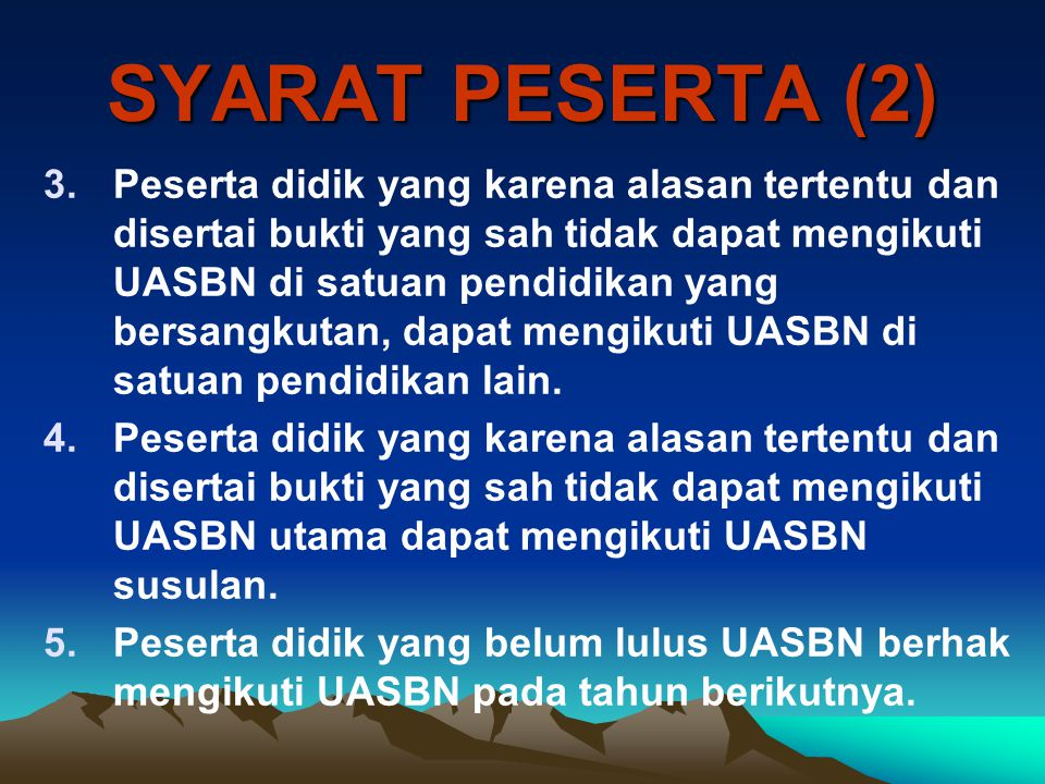 SYARAT PESERTA (2)