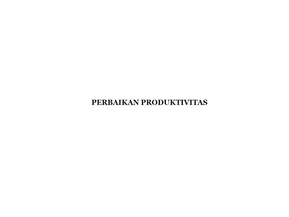 PERBAIKAN PRODUKTIVITAS