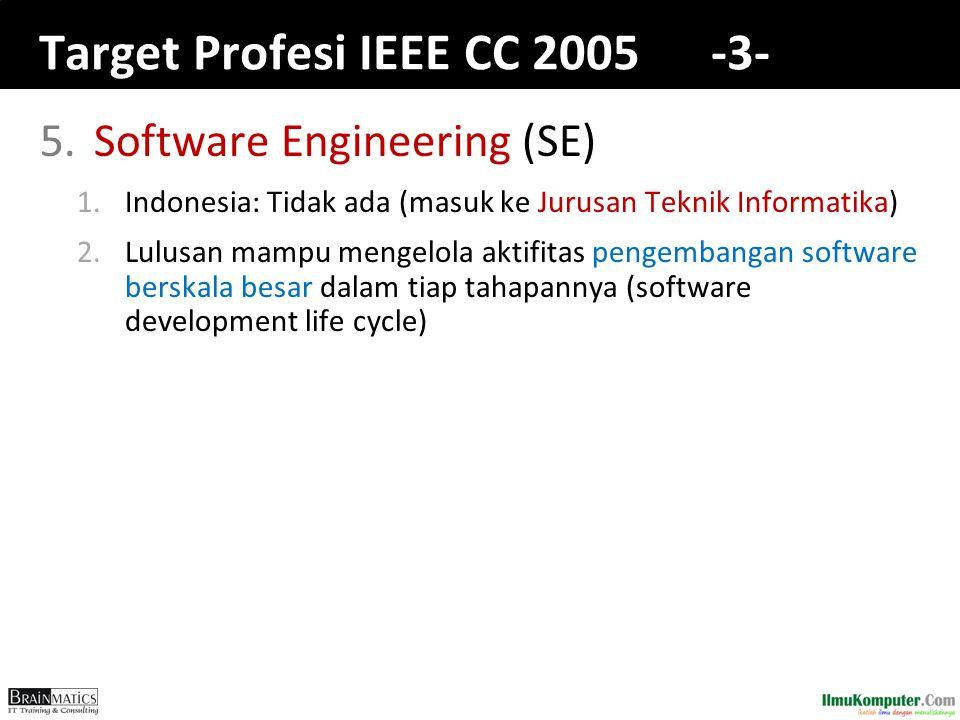 Target Profesi IEEE CC 2005 -3-