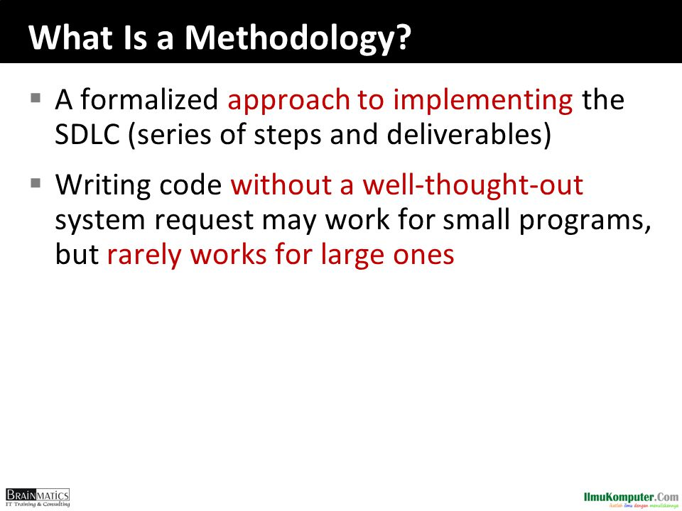 romi@romisatriawahono.net Object-Oriented Programming. What Is a Methodology