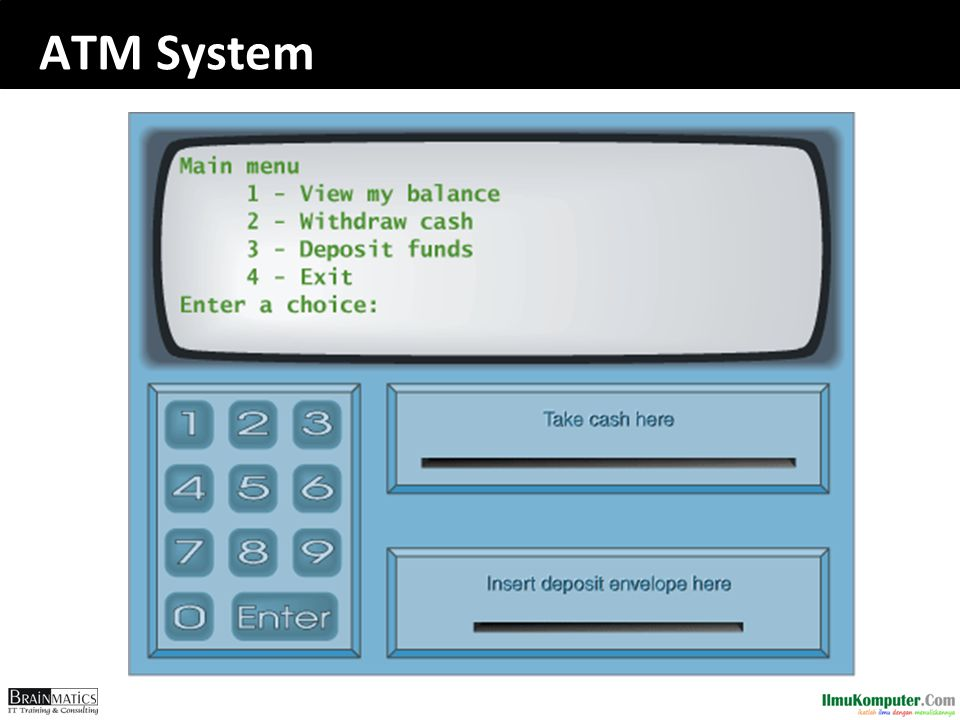 ATM System romi@romisatriawahono.net Object-Oriented Programming