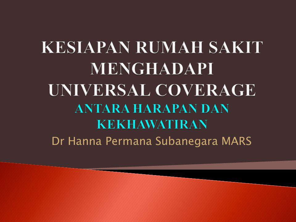 Dr Hanna Permana Subanegara MARS