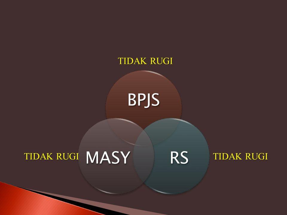 TIDAK RUGI BPJS RS MASY TIDAK RUGI TIDAK RUGI