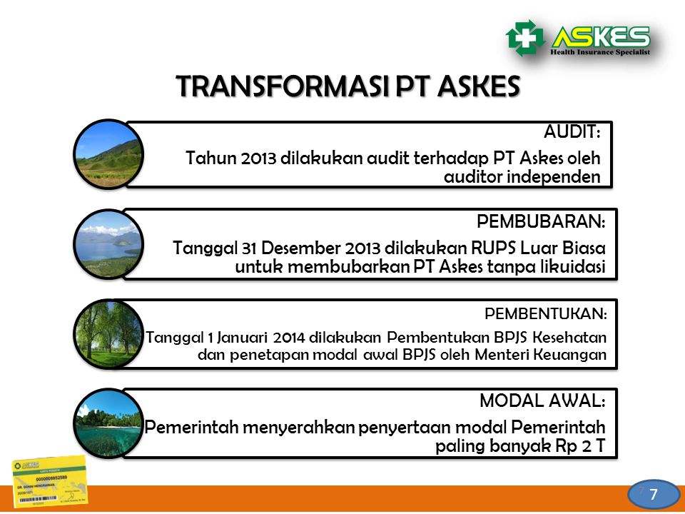 TRANSFORMASI PT ASKES AUDIT: