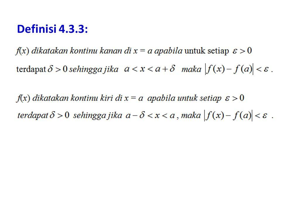 Definisi 4.3.3: