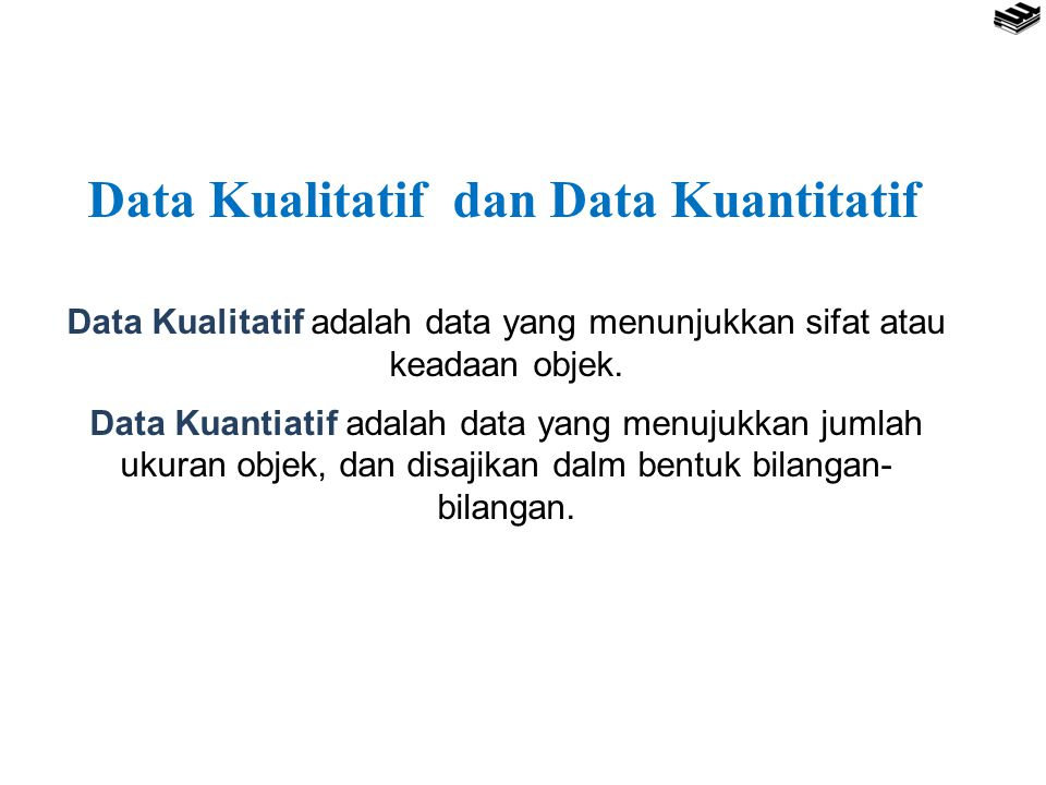 Data Kualitatif dan Data Kuantitatif
