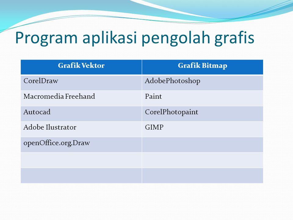 Program aplikasi pengolah grafis