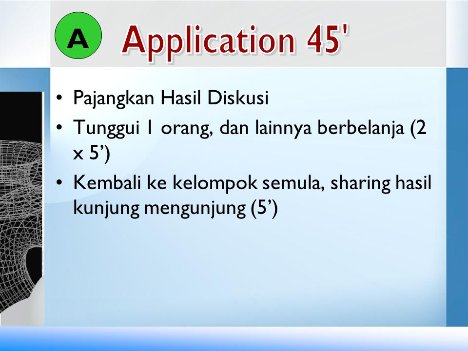 A Application 45 Pajangkan Hasil Diskusi