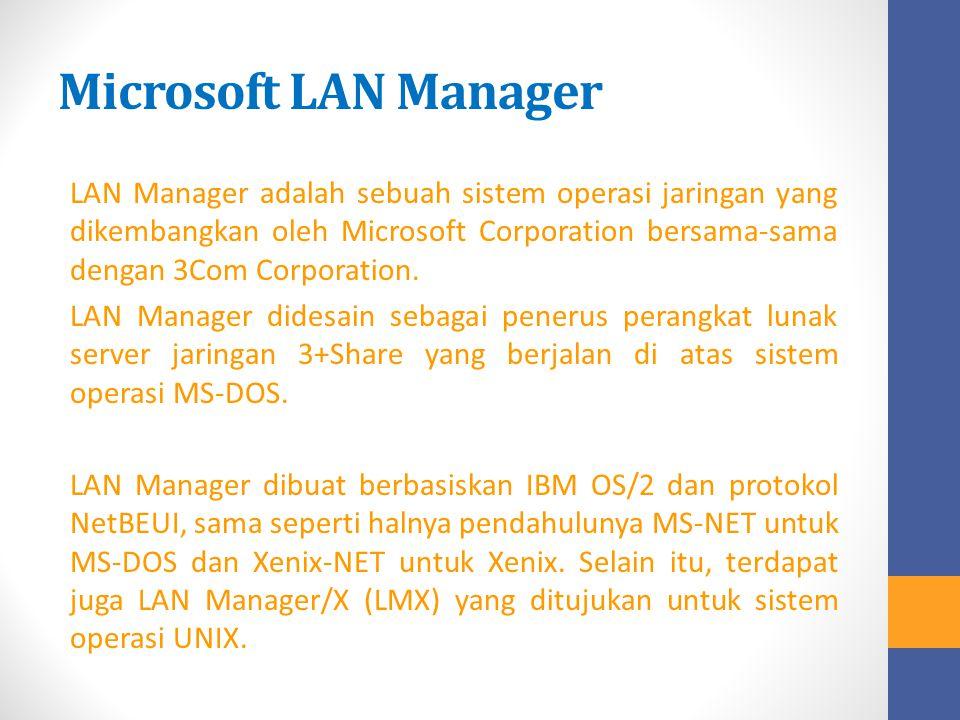 Microsoft LAN Manager