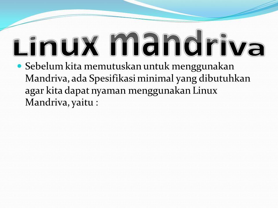 Linux mandriva