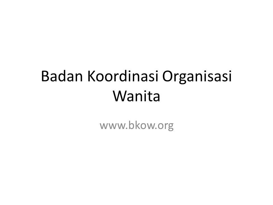 Badan Koordinasi Organisasi Wanita