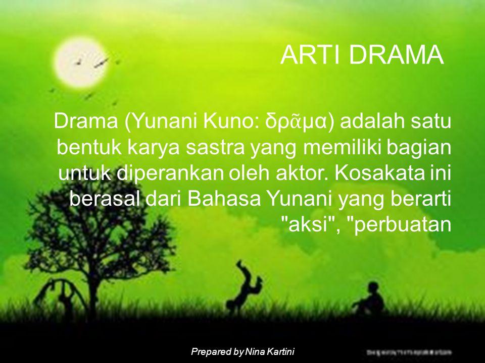 ARTI DRAMA