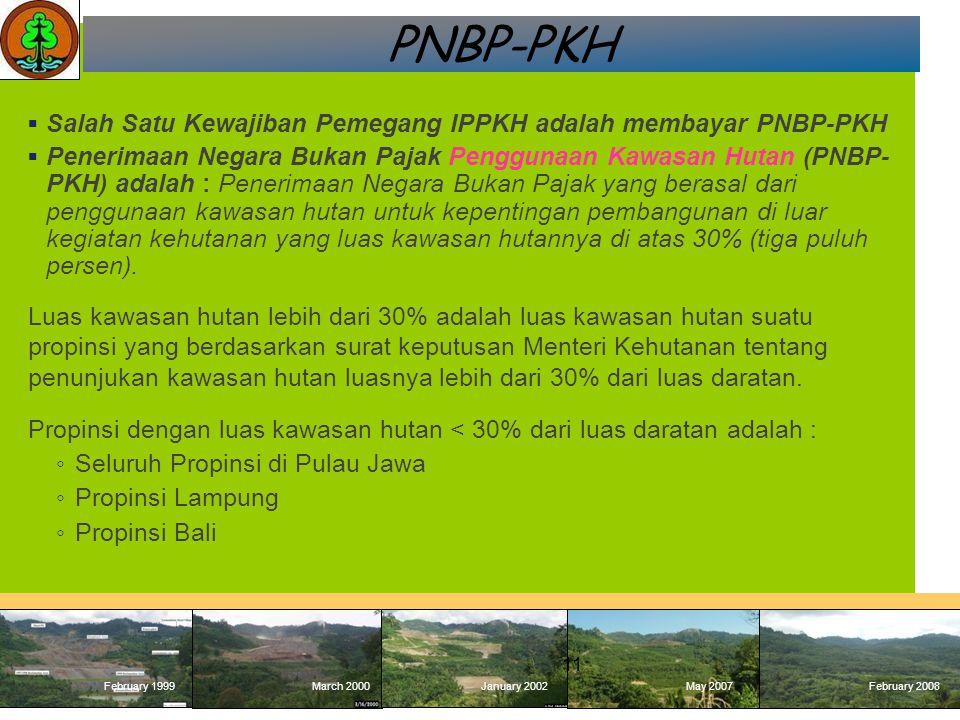 PNBP-PKH Salah Satu Kewajiban Pemegang IPPKH adalah membayar PNBP-PKH