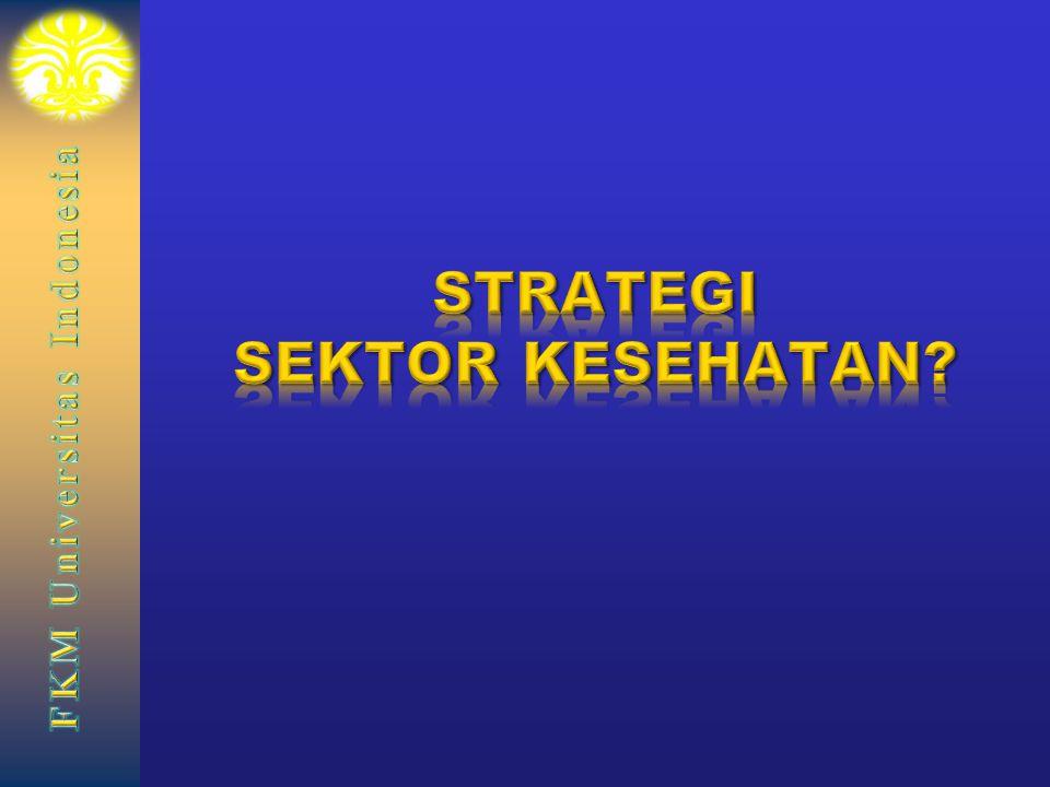 STRATEGI SEKTOR KESEHATAN
