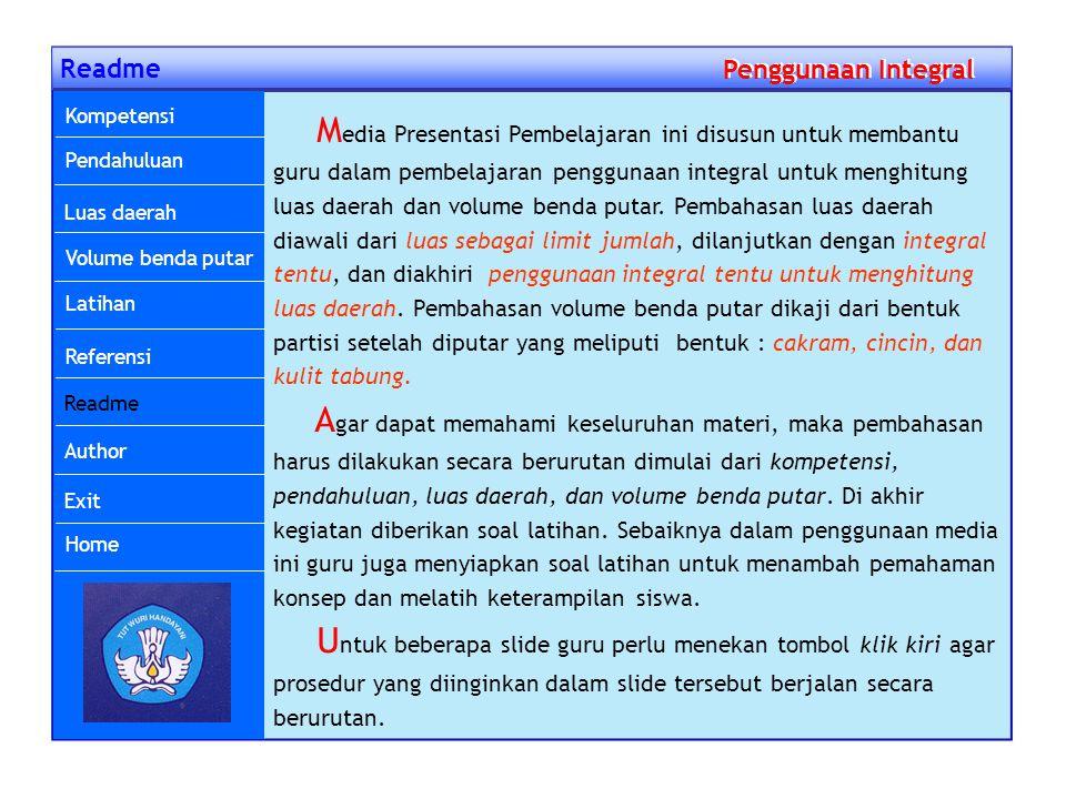 Readme Penggunaan Integral