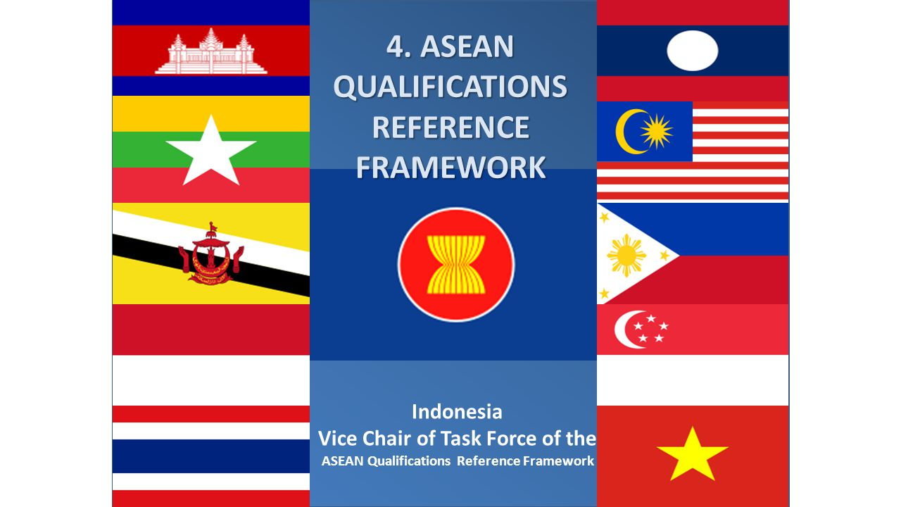 4. ASEAN QUALIFICATIONS REFERENCE FRAMEWORK