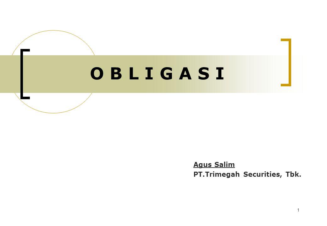 Agus Salim PT.Trimegah Securities, Tbk.
