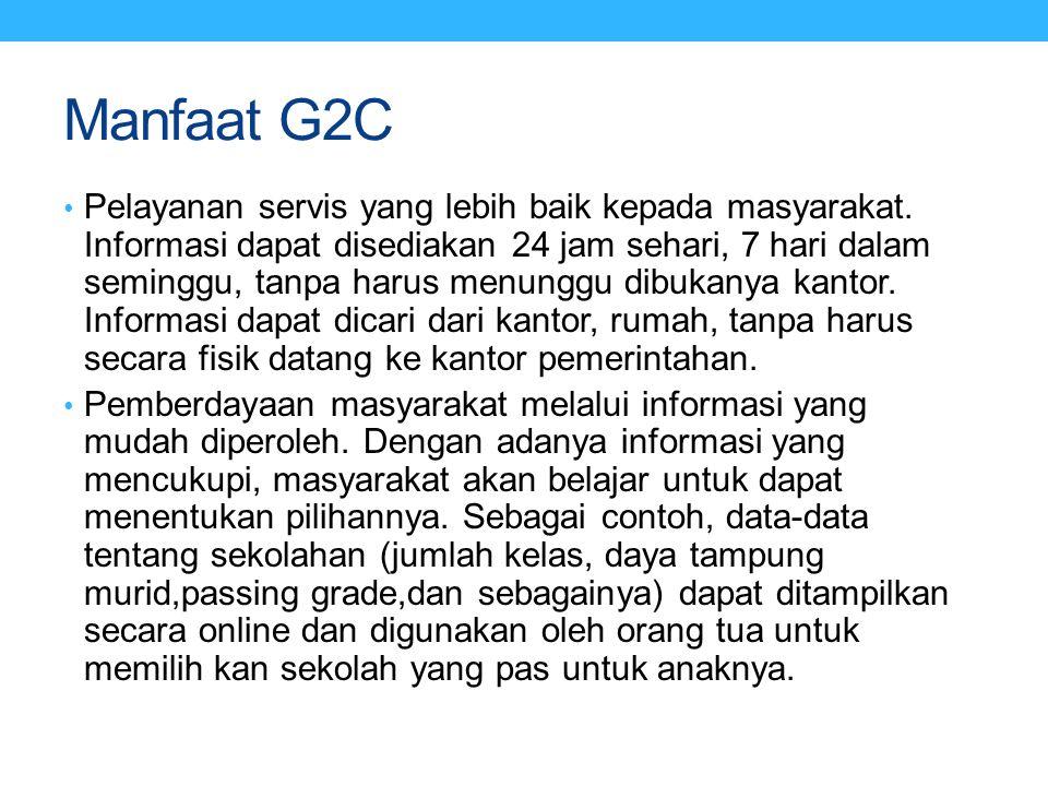 Manfaat G2C