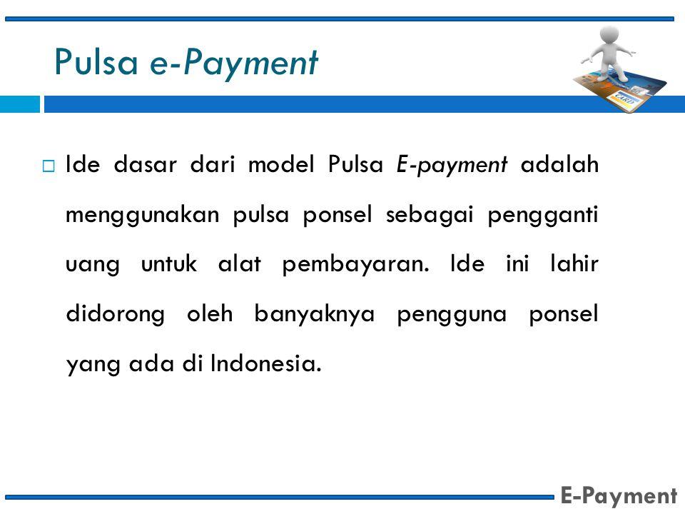 Pulsa e-Payment
