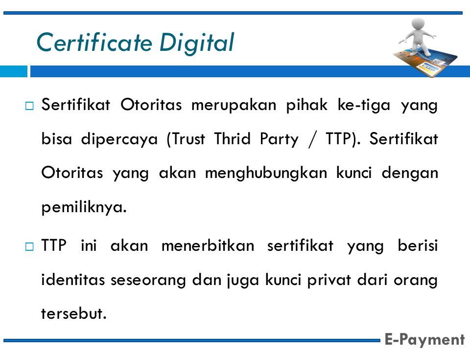 Certificate Digital