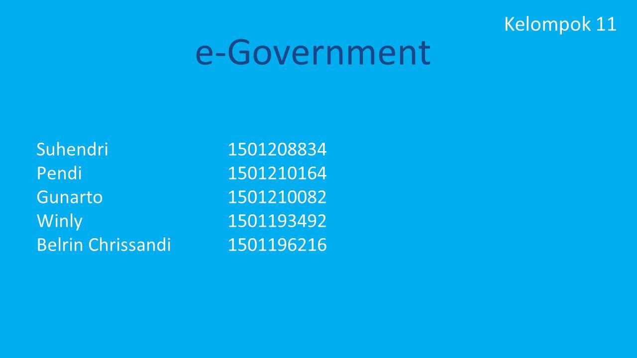 e-Government Kelompok 11