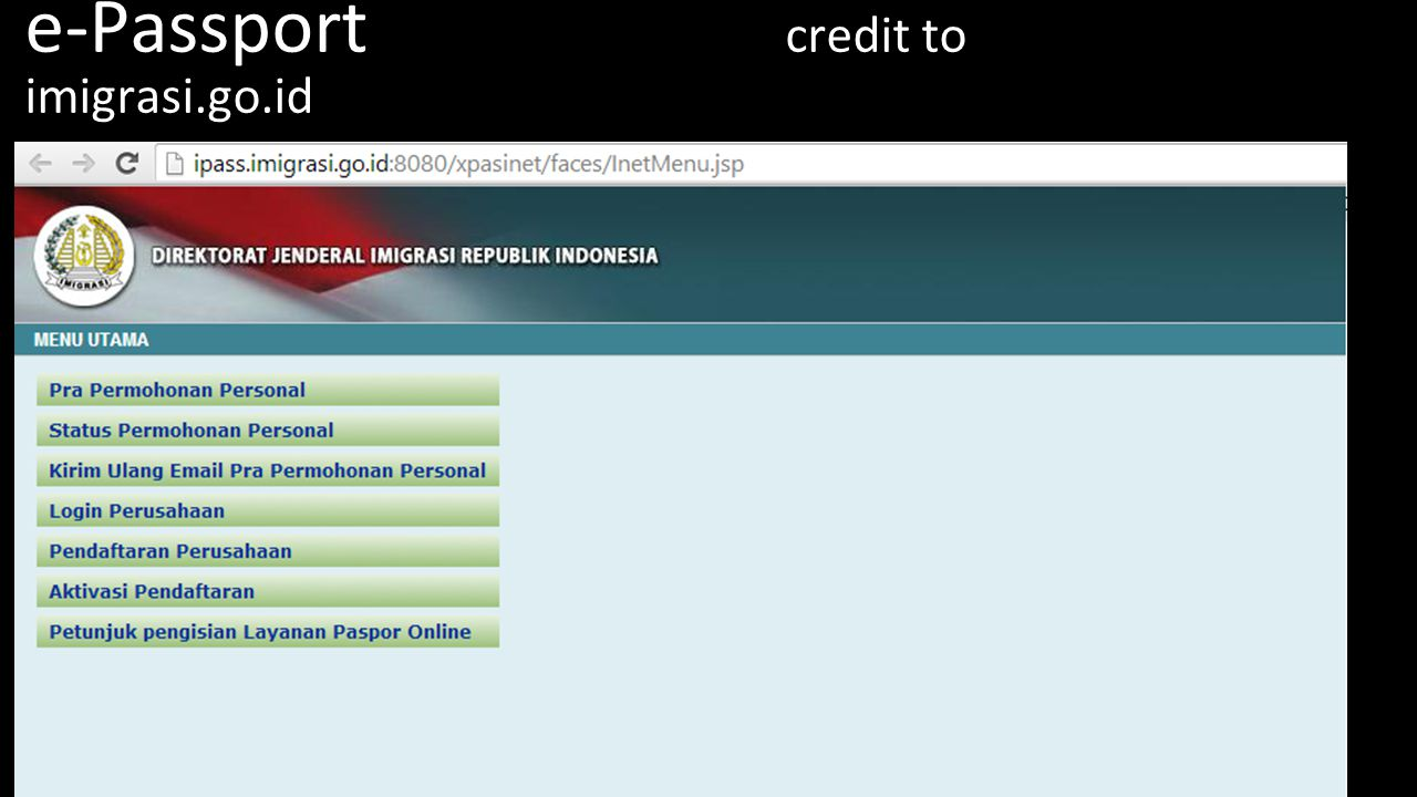 e-Passport credit to imigrasi.go.id