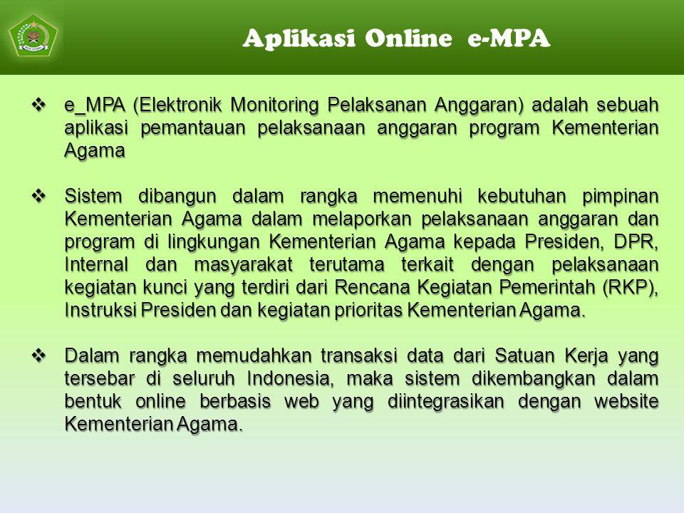 Aplikasi Online e-MPA
