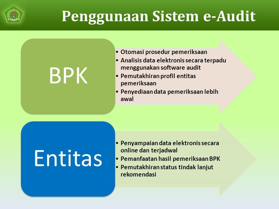 Penggunaan Sistem e-Audit
