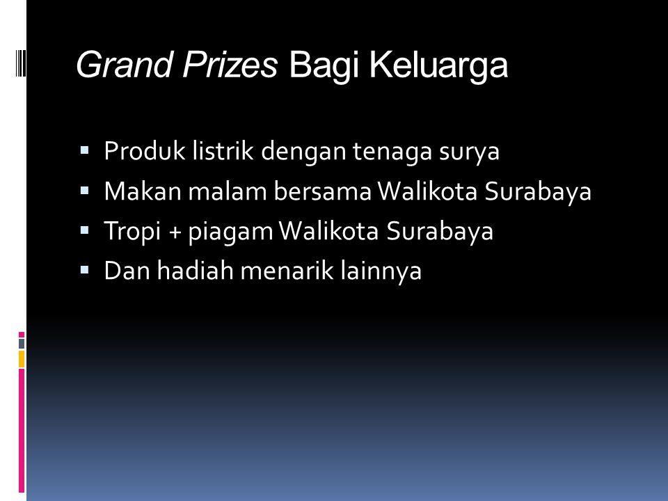 Grand Prizes Bagi Keluarga