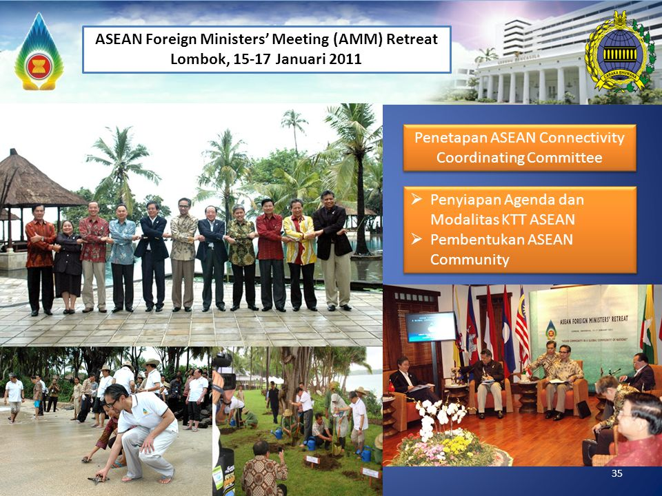 ASEAN Foreign Ministers' Meeting (AMM) Retreat